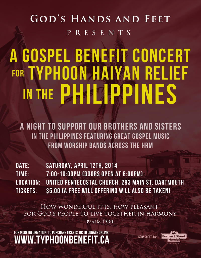 Typhoon Benefit Concert